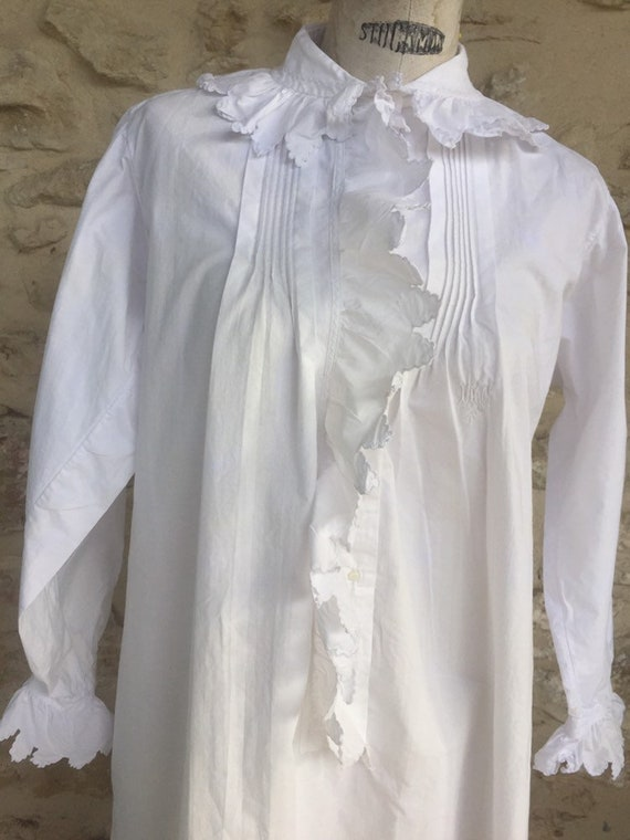 Antique Victorian nightgown