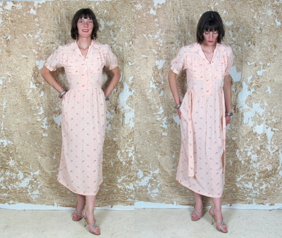 Vintage 1940s nightdress