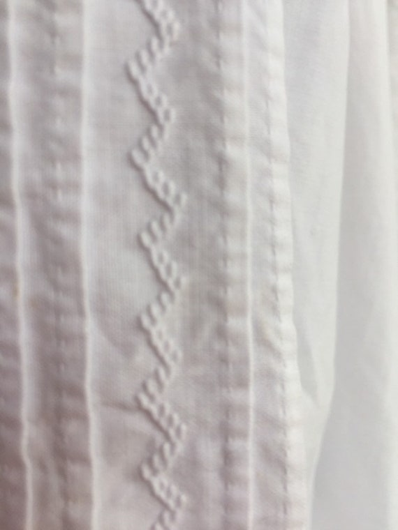 Antique Victorian nightgown - image 4