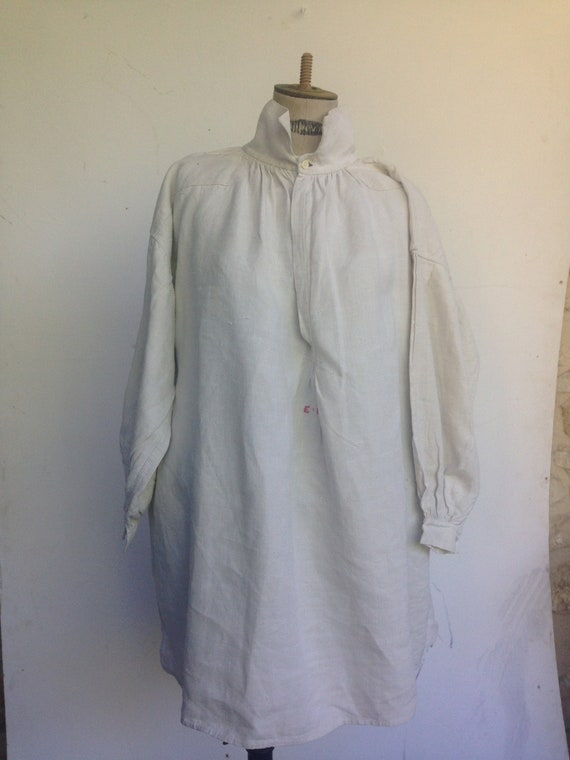 Antique french peasant smock