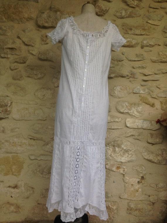 Antique french lingerie bridal trousseau 1900 gar… - image 3