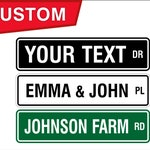 Custom Street Sign, Personalized Street Sign, Custom Sign, Trucking Sign, Business Sign, Personalized Farm Sign, Custom Farm Sign