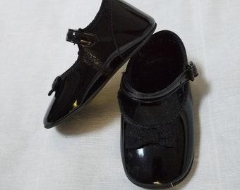 3e20e66b738fa Patent baby shoes | Etsy