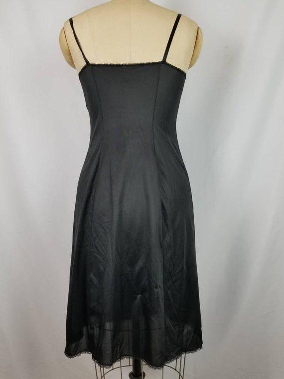 Black full slip,  vintage 34L - image 4