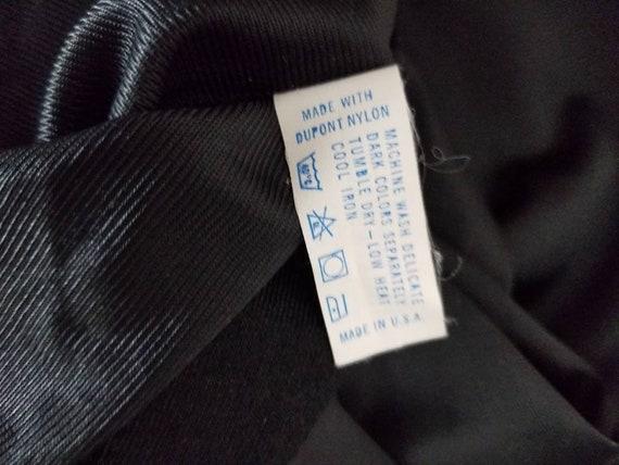 Black full slip,  vintage 34L - image 5