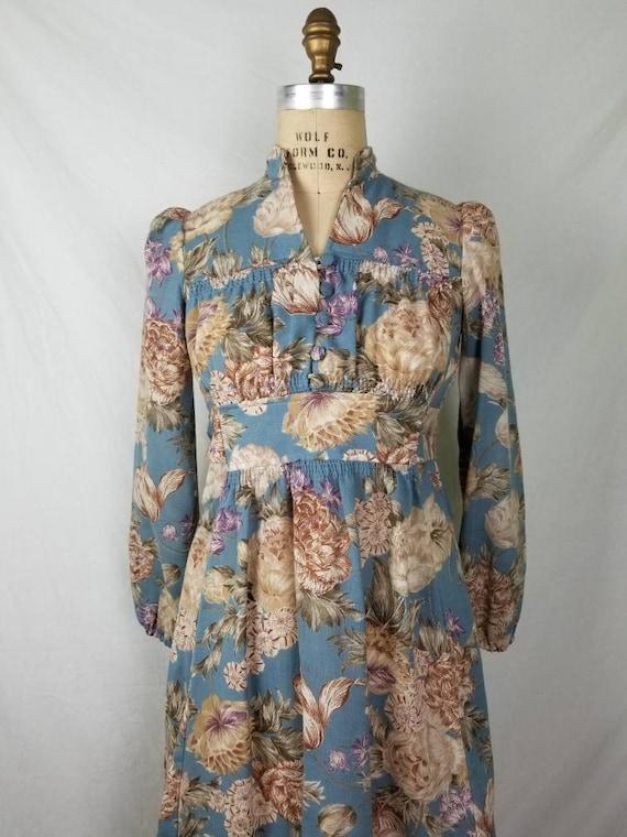 60s-70s boho hippie dress 7