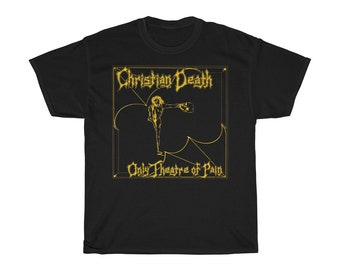 529e9fe6d2 Christian Death Only Theatre of Pain T-Shirt
