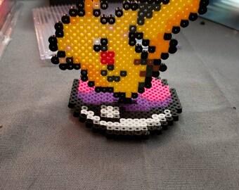 Perler bead pikachu   Etsy