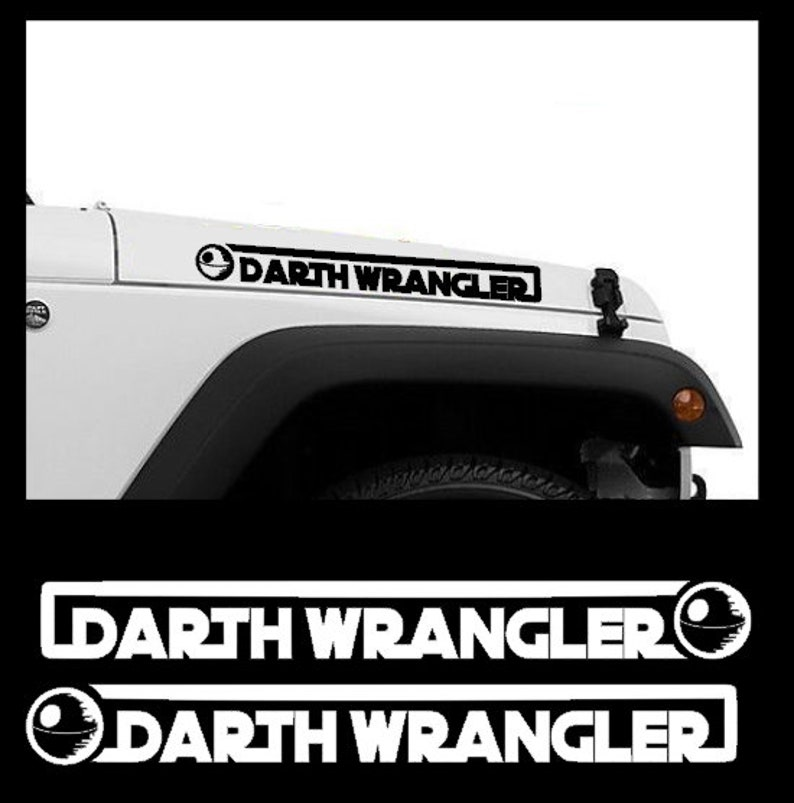 WRANGLER JEEP Hood Decal Camo  CJ TJ YJ PAIR