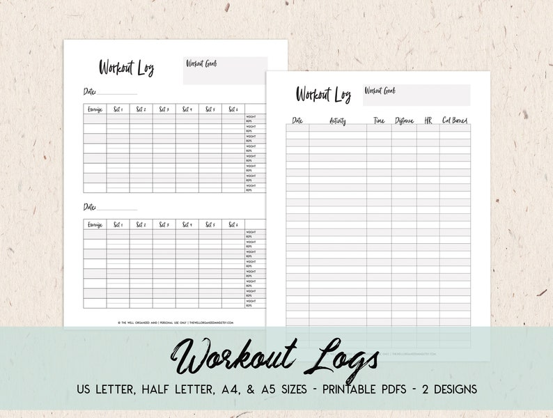 photograph about Printable Workouts identified as Conditioning Tracker Printable Exercise Tracker Exercise routine Log Exercise routine Planner Health and fitness Planner Conditioning Magazine Electronic Down load