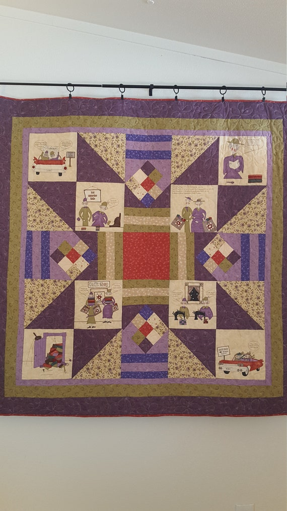 Quilt titled,