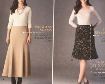 Simplicity 2058 Womens Skirt Sewing Patterns Sizes 10-18