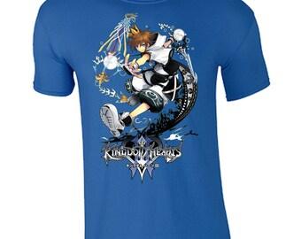 5b0510251d0c04 Kingdom Hearts 3 Game Unisex Tshirt Brand New