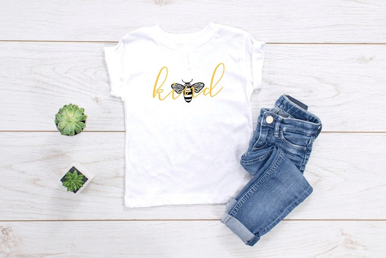 baby be kind tshirt positive affirmation toddler tee unisex image 0