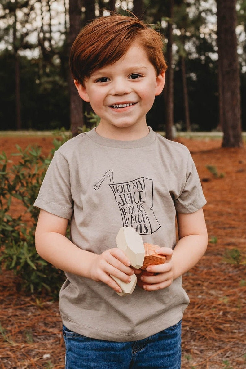juice box toddler shirt graphic tee for kids hipster kids image 0