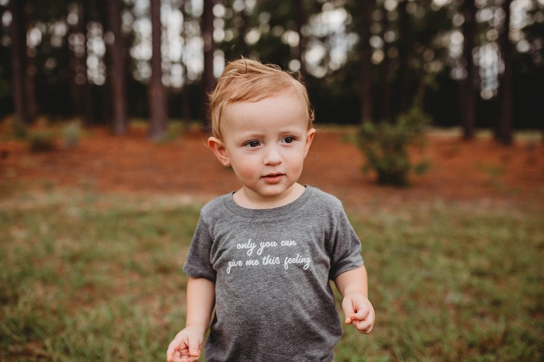 only you can give me this feeling kids tshirt baby love image 0