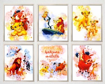THE LION GUARD A4 POSTER WALL ART