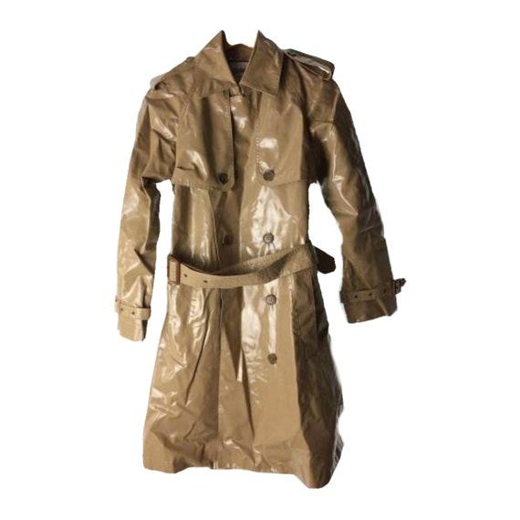 Jean Paul Gaultier PVC Trench Coat Sz 38