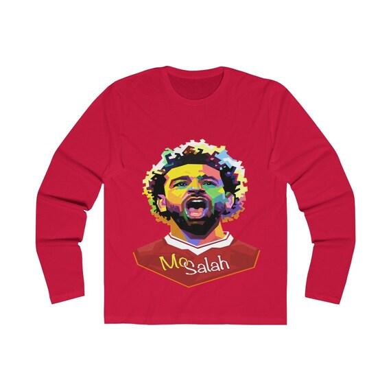 Mosalah Mosalah Mosalah T Shirt chemise drôle cadeau chemise Salah Egyptin roi football Shirt unisexe T Shirt d899f8