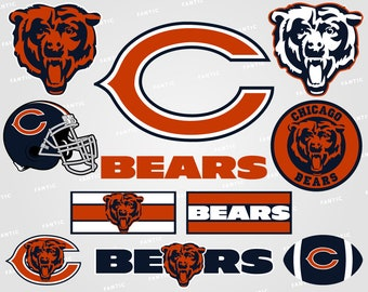 5b449519c1caf9 Bears svg – Chicago Bears svg – Football svg – Bears clipart – Chicago svg  – vector files – svg, pdf, png, dxf, eps