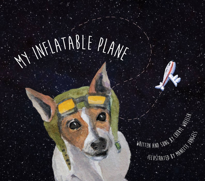 My Inflatable Plane  Written and sung by Cheryl Wheeler image 0