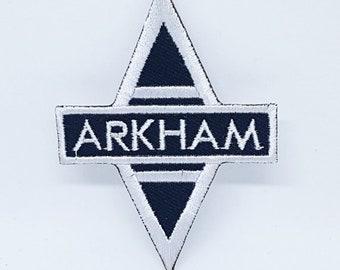 5d1fbf9f360a Batman Arkham Asylum Iron Sew On EMBROIDERED Patch