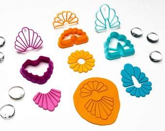 Polymer Clay Embossing Stamps and Cutters. Art Deco (#01)