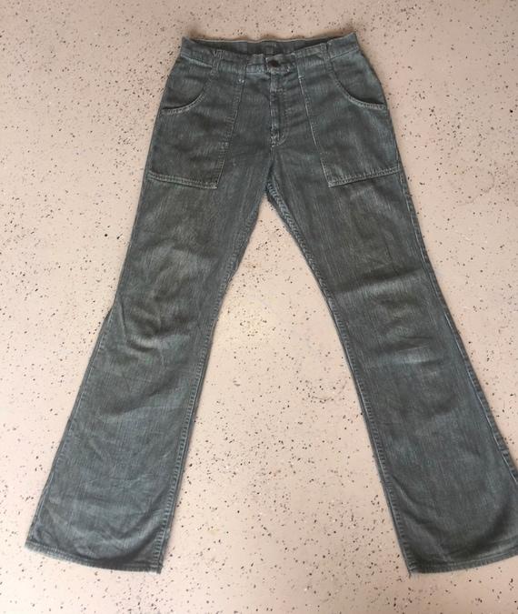 Vintage 60s Levis Big E Flare Corduroy Pants