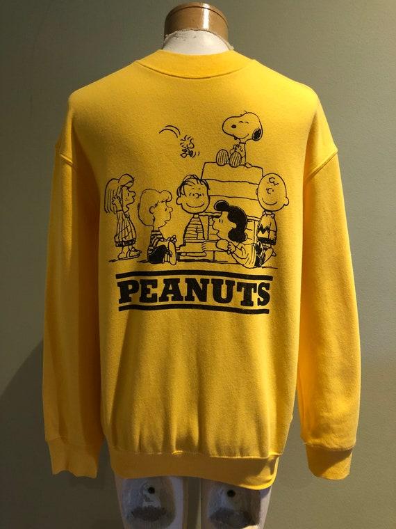 Vintage 70's Super Soft Peanuts Snoopy Sweatshirt