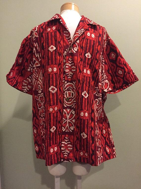 Rare Vintage 1940's Cotton Hawaiian Shirt