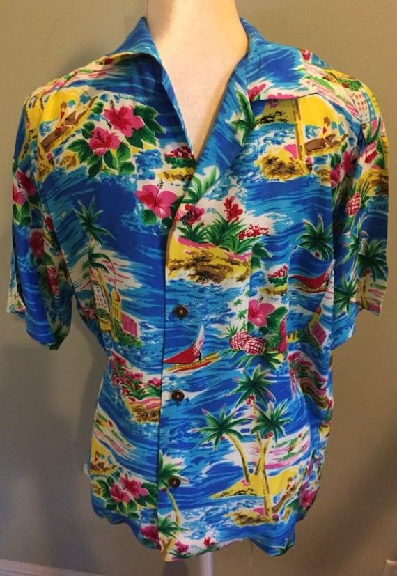 Vintage Original 1940's Hawaiian Shirt
