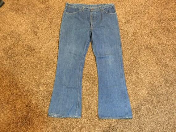 Vintage 60's Levis Bellbottom Jeans