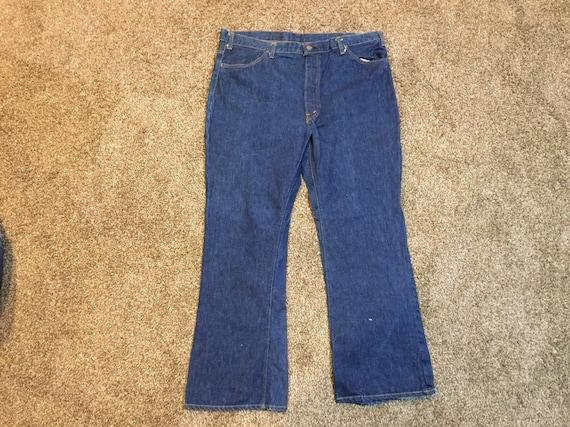 Vintage 60s Levis Big E Bellbottom Jeans