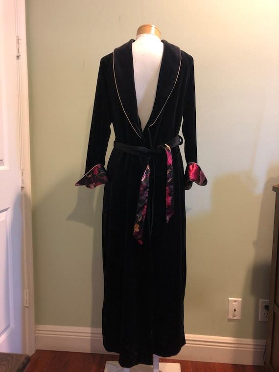 Vintage Halston Robe