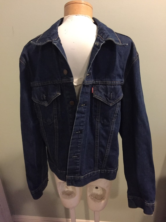 Amazing 1950s Levis Big E Denim Jacket