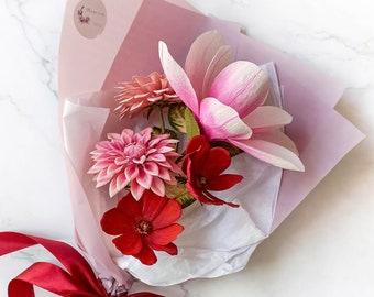 suecia nuevo decoración Pascua Velas de alta calidad anillo rosa tulipanes margaritas
