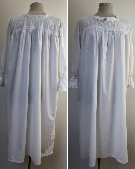 Edwardian nightgown, antique nightgown, chemise