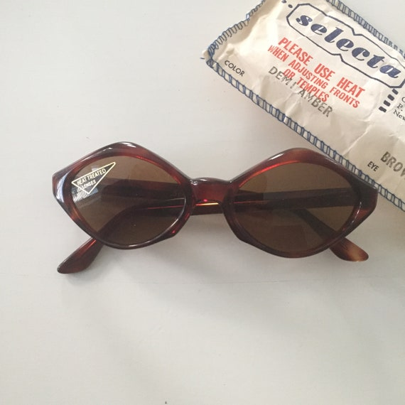 DEADSTOCK 50s Selecta Sunglasses, NOS Sunglasses,