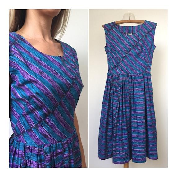 50s Day Dress AS NEW, 50s dress, Size XS  Size S,… - image 1