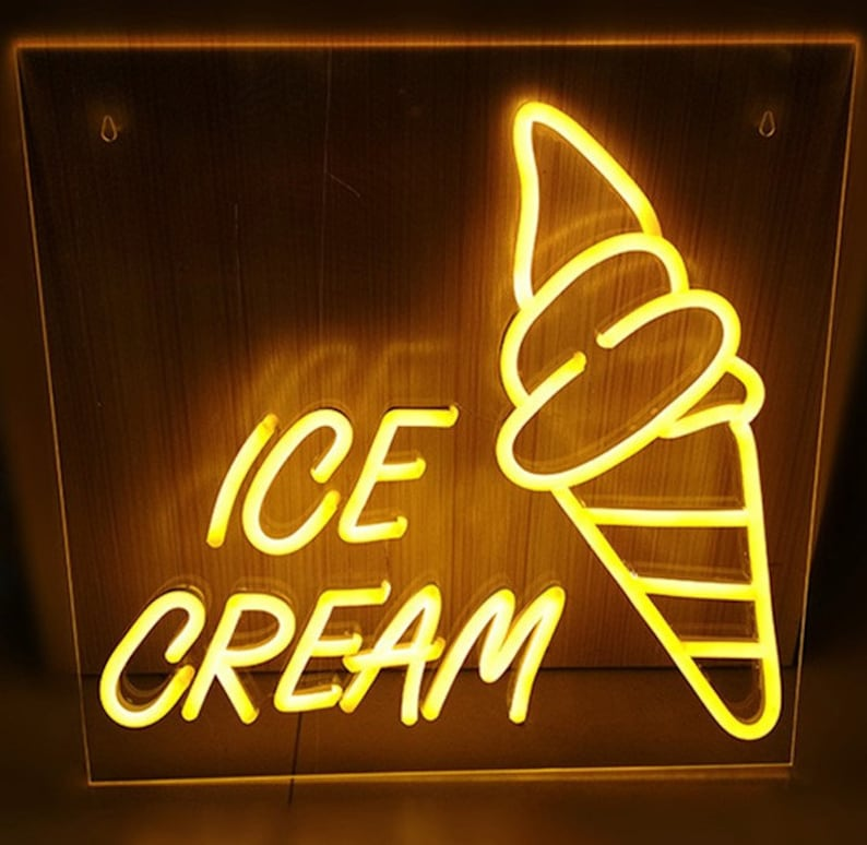 Custom neon sign for home décor- store