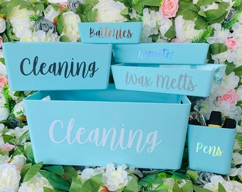 Personalized Quality Vinyl Labels Mrs Hinch//Storage//Home//Beauty//Wedding//Office