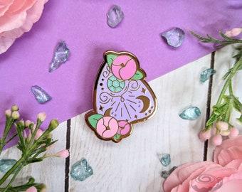 Planchette Enamel Pin // Halloween, Witch, Glitter, Cute, Kawaii