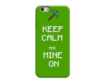 Minecraft Phone Case Etsy