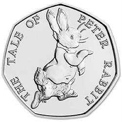 New Baby Gift for Boys and Girls Collectable Beatrix Potter Coins