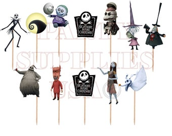 Nightmare Before Christmas Decorations Etsy