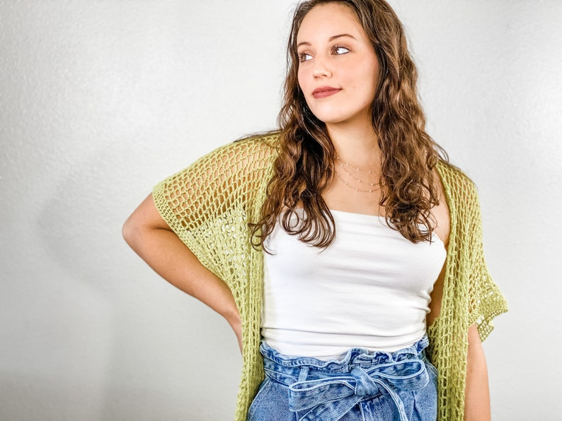 extra long maxi style summer cardilight weight lace crochet sweatermodern filet crochet cardi Crochet patternAn oversized