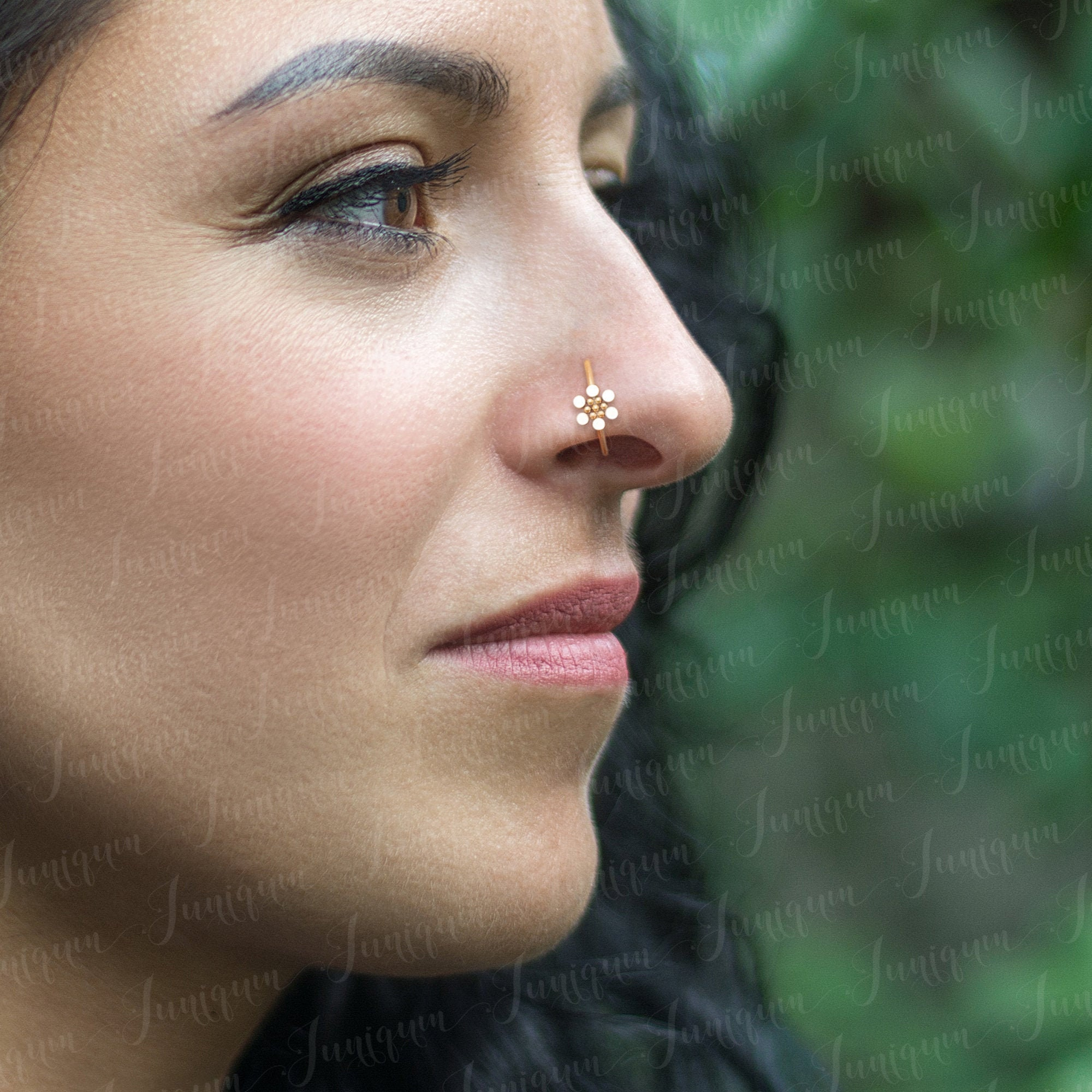 Nose Hoop Surgical Steel Nose Ring Nose Ring Hoop Nose Etsy