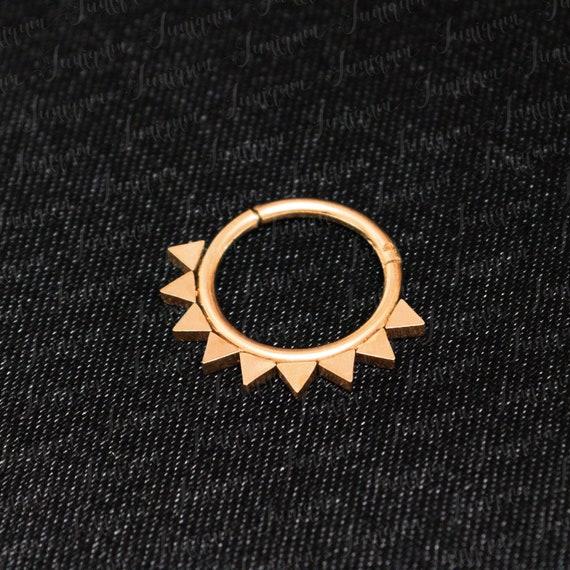 Body piercing jewelry Nipple jewelry piercing Nipple clicker Nipple ring opal Nipple piercing surgical steel Body jewelry. Nipple hoop