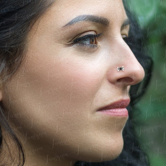 Nose Stud Nose Ring Nose Bone Stud Nose Piercing Nose Etsy