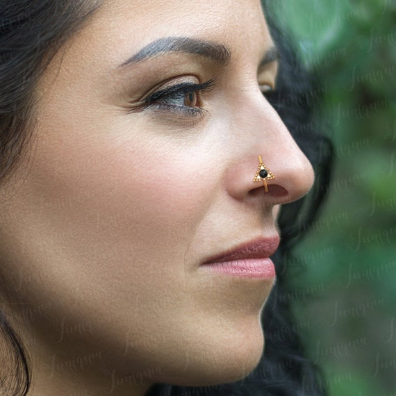Nose Jewelry Gold Nose Ring Nose Hoop Nose Piercing Hoop Etsy